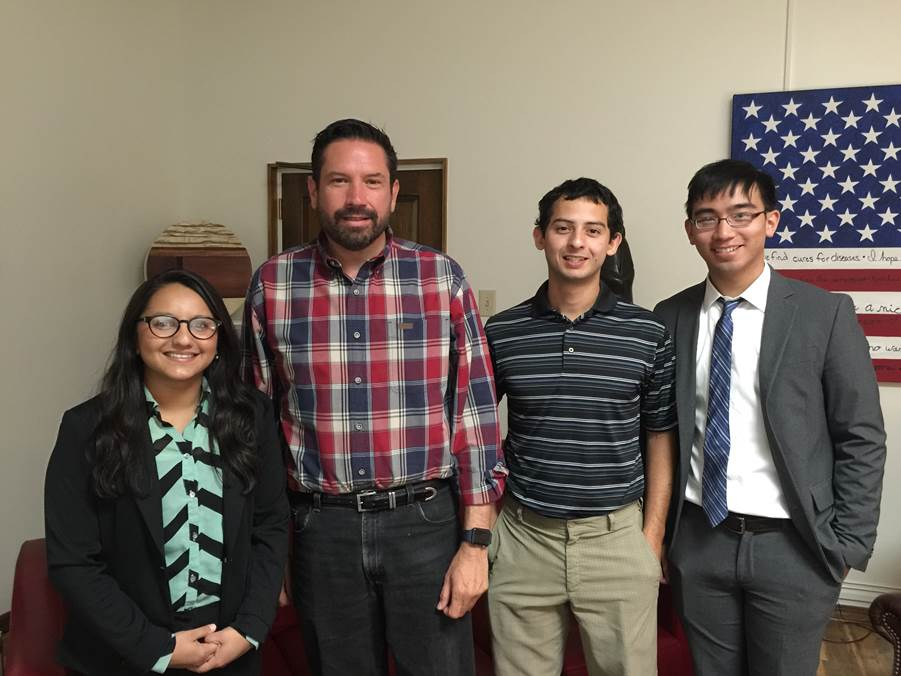 2016 Interns Meeting Santa Fe Mayor Javier Gonzales